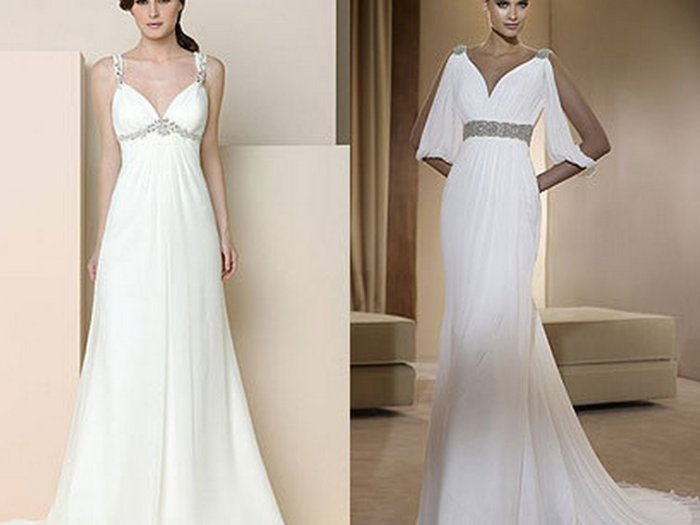 Платье в греческом стиле: вечно юная мода