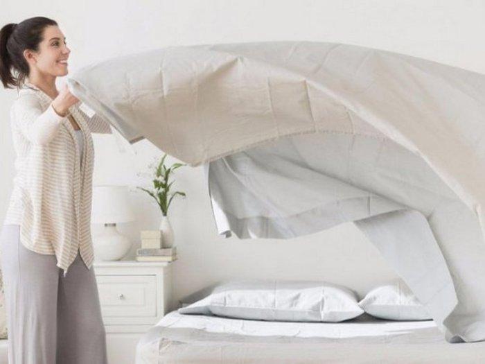 Как часто на самом деле нужно менять постельное белье