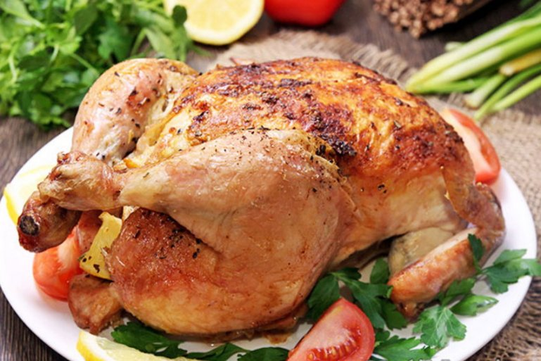 Рецепт вкусной запеченной курицы