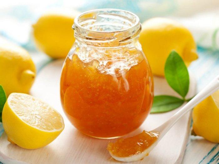 Лимонное варенье с кожурой
