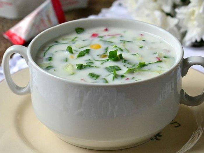 Рецепты холодных и горячих супов на кефире для похудения