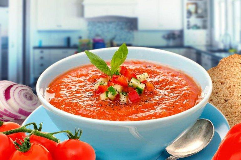 Испанский томатный суп
