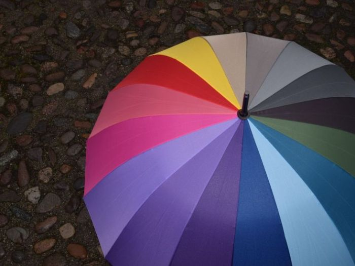 Как правильно чистить и сушить зонт