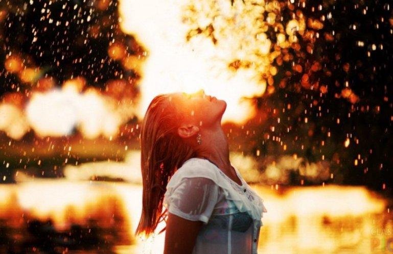 В какие-то дни вы собираете капли дождя, а в какие-то дни вы впитываете солнце