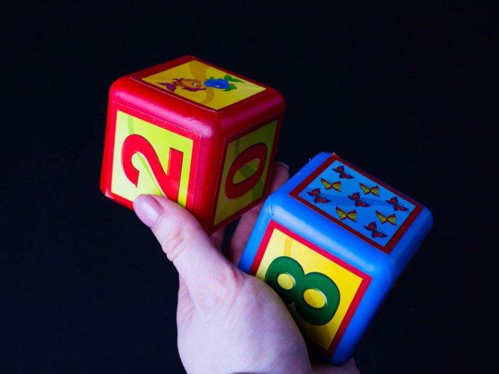 Виды детских кубиков