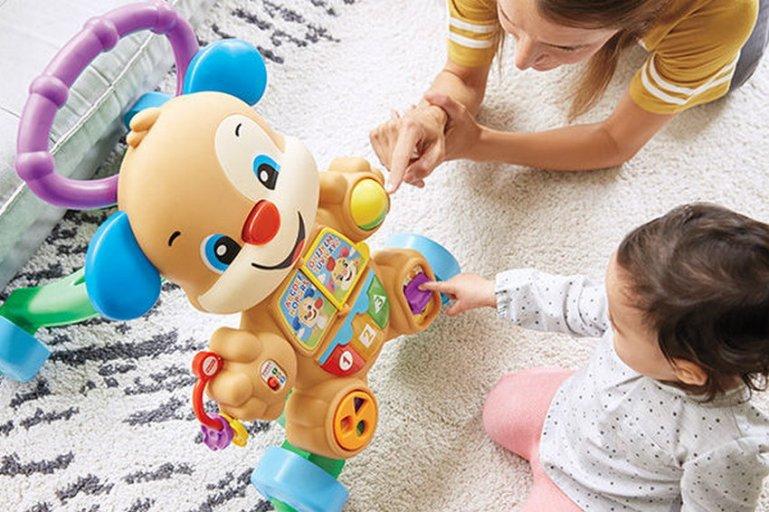 Покупаем игрушки ребенку по его возрасту