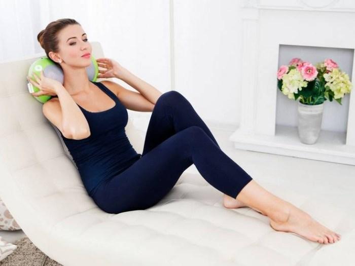 Массажные подушки: польза и выбор подходящей модели