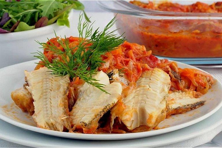 Рецепт приготовления вкусного минтая в духовке