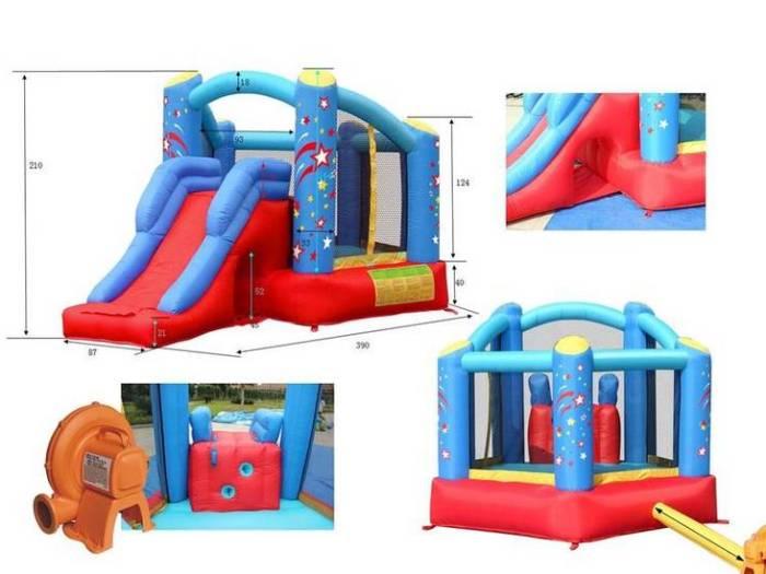 Спортивные батуты Happy Hop для детей и взрослых