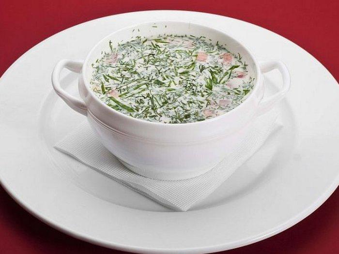 Рецепт супа на основе кисломолочного напитка