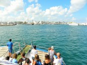 Llegando al Puerto de La Savina, Formentera