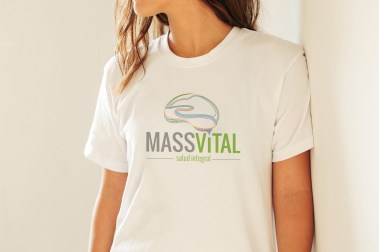 Free Girl T-Shirt Logo Branding Mock-up Psd