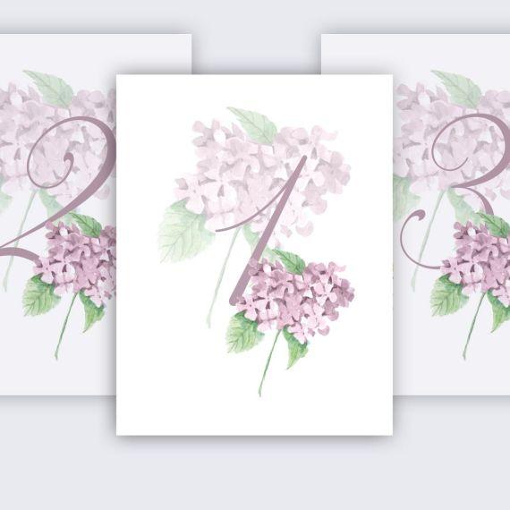 mesero hortensia rosa boda