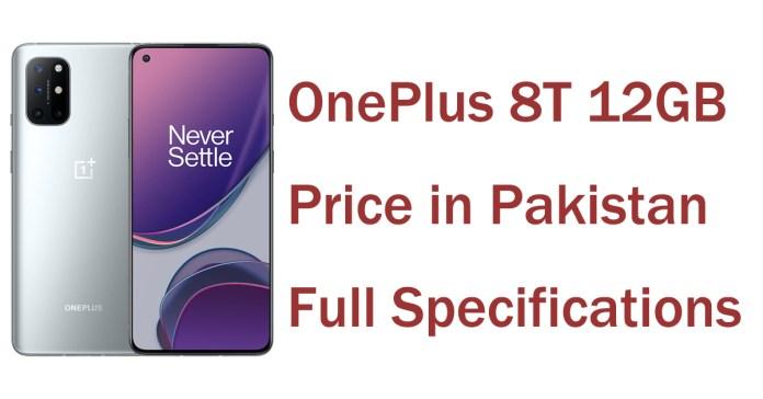 OnePlus 8T 12GB Price in Pakistan