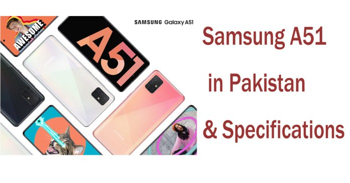Samsung A51 price in Pakistan