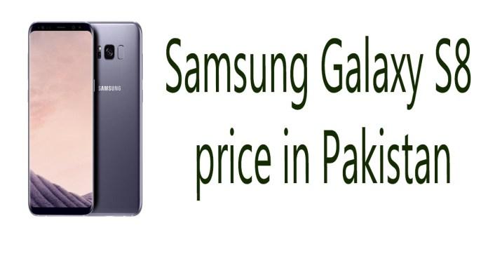 Samsung Galaxy S8 price in Pakistan