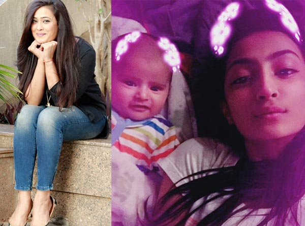 Shweta Tiwari and son Reyansh