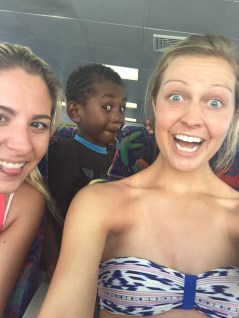 This little boy popped up while we were on the boat and wanted to take so many selfies.