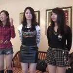 [無修正] ローカルアイドルグループをホテルに連れ込み乱交