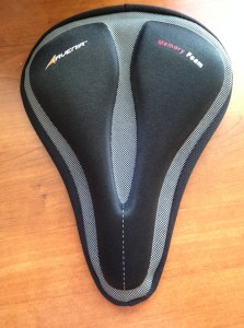 cycling, gel seat covers, sore butt from spinning class