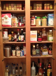 A disorganized pantry makes it difficult to prepare delicious and healthy foods at home.