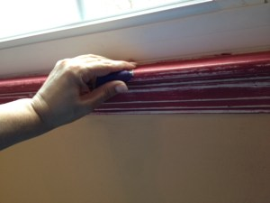 Got a great arm workout sanding my window sills this weekend. When you can't do traditional exercise, household DIY projects are a great way to stay active and workout.