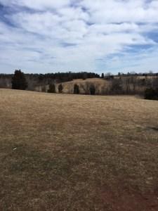 The rolling plains of Manassas National Battlefield Park, home of 2 major civil war battles.
