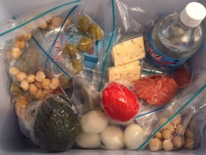 Packing a few LCHF friendly snacks (which can double as a light meal) for my drive to TX.