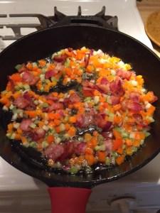bacon turkey soup 2
