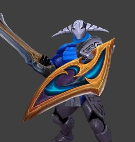 Sven shield - Silencer shield placeholder