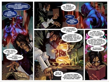 TI5 compendium comic the summoning 9