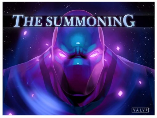 TI5 compendium comic the summoning