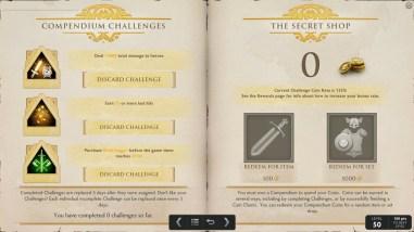 TI5 compendium challenges