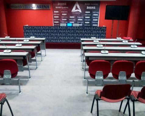 El Baskonia conference room
