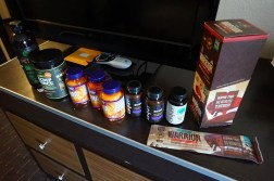 Nutritional supplements taken by Cloud 9 players during their TI5 training period