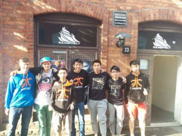 Fnatic, outside the Gameffect offices