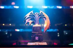 Dota 2 Manila Major trophy