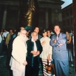 photo DR, Pierre Restany, Cesar, Bernard Blistene, Directeur Musée de Marseille, Maryline Bellieud Vigouroux, Christian Poitevin