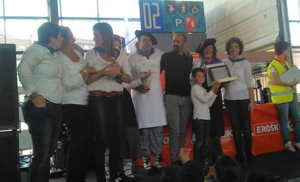 Ganadores del concurso de marmitako 2016