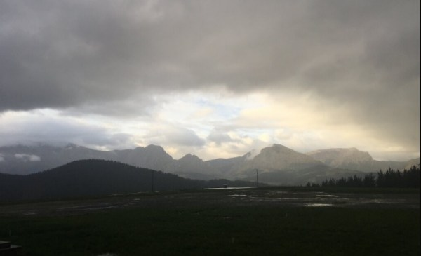 El tiempo será gris y lluvioso durante toda la semana FOTO: dotb.eus