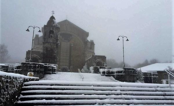 Imagen del Santuario de Urkiola en año pasado FOTO: dotb.eus