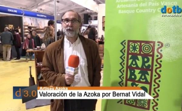 Bernat Vidal presidente de Arbaso FOTO: dotb.eus