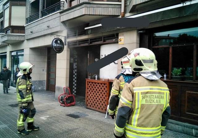 [dotb.eus] Un herido tras el incendio de una cocina en un bar de Amorebieta