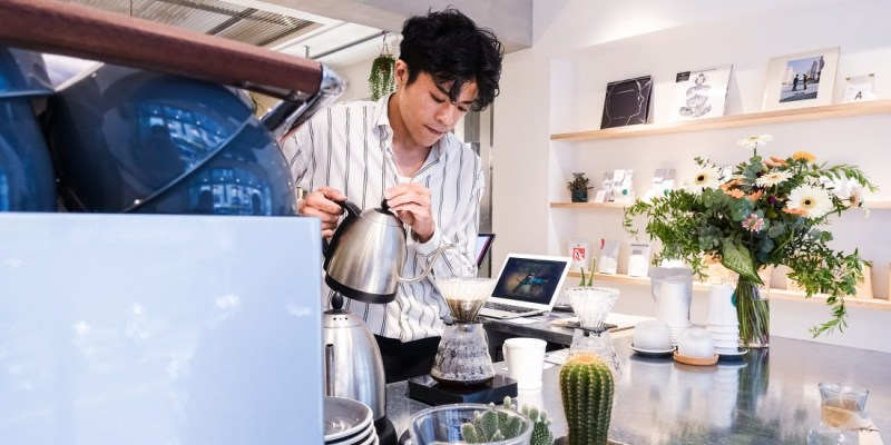 Oasis Coffee Roasters Find the Oasis 找尋生活的綠洲/信義安和咖啡廳