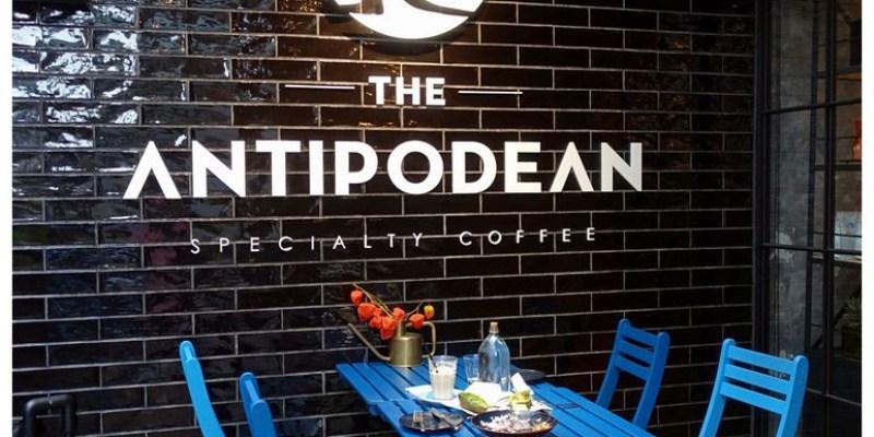 台北內湖早午餐 The Antipodean ,白藍相間澳洲風格不限時咖啡廳,捷運港墘站