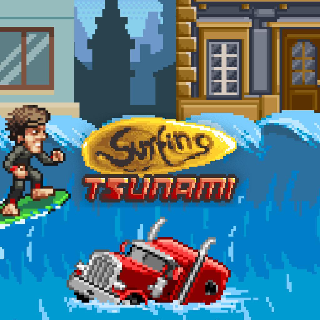 Surfing Tsunami