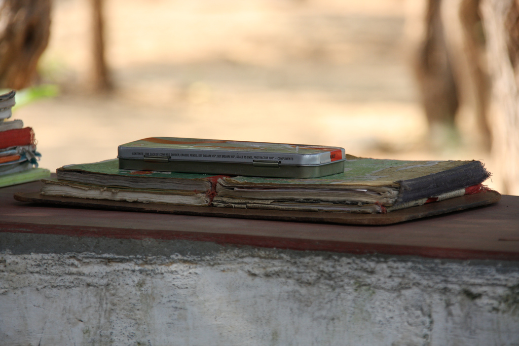 Alte Schulbücher