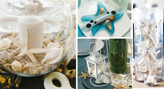 Starfish Wedding Theme Ideas And Cake Topper