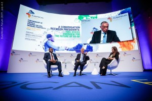 Conversation Between Presidents  Eurafrican Forum 2019, July 4-5
