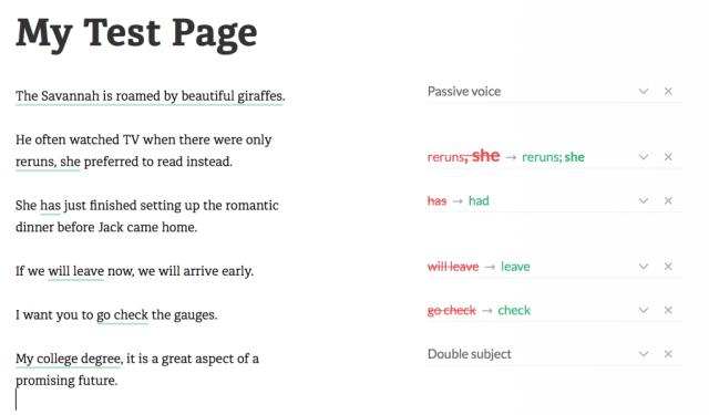 Grammarly Deeper Insights